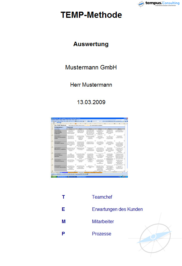 Vorlagen/Downloads – Tempus-Consulting